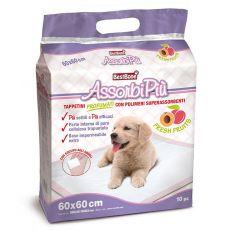 Hygienické podložky pro psy s ovocnou vůní 60 x 60 cm, 10 ks