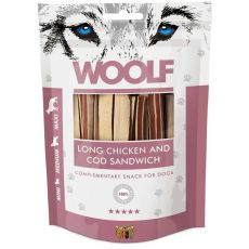WOOLF Long Chicken and Cod Sandwich 100 g