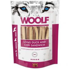 WOOLF Long Duck and Cod Sandwich 100 g