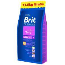 Brit Premium Adult Small 8 kg + 1,5kg GRATIS
