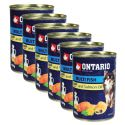 Konzerva ONTARIO Multi Fish a lososový olej, 6 x 400g