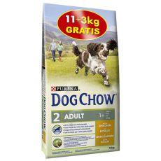 PURINA DOG CHOW ADULT Chicken 11 + 3 kg ZDARMA