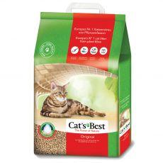Podestýlka do WC hrudkující – Cat's Best Original  20 l