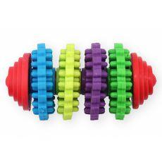 TPR Dental hračka pro psa s výstupky, 8 cm