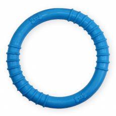 TPR Gumový kruh s výstupky – modrý 9,5 cm