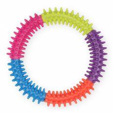 TPR Dental hračka pro psa s výstupky – kruh, 15 cm