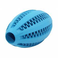 Hračka pro psa – rugby míč, modrý, 11 cm