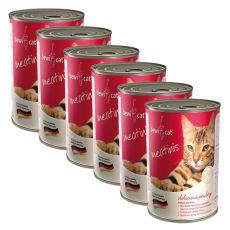Konzerva BEWI CAT Meatinis DRŮBEŽ 6 x 400g