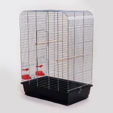 Klec pro papouška NINA chrom - 54 x 34 x 75 cm