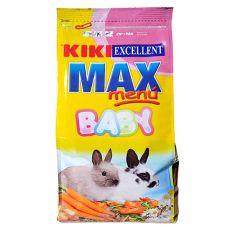 KIKI EXCELLENT MAX MENU BABY – krmivo pro mladé králíky, 1 kg