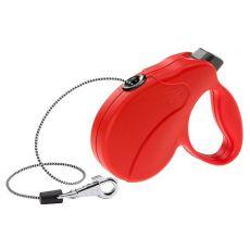 Vodítko Amigo Easy Mini do 12 kg – 3m lanko, červené