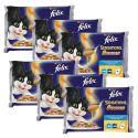Felix Sensations Sauces - rybí variace v omáčce, 6 x 400 g