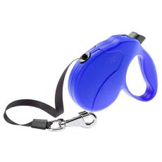 Vodítko Amigo Easy Medium do 25 kg – 5m popruh, modré