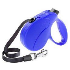 Vodítko Amigo Easy Small do 15 kg – 5m popruh, modré