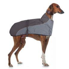 Vesta GREYHOUND s límcem pro psa, šedočerná – 50 cm