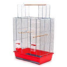Klec pro papoušky ARA chrom - 54 x 34 x 68,5 cm
