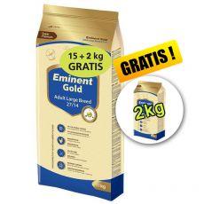 EMINENT GOLD Adult Large Breed 15kg + 2kg + 2kg GRATIS