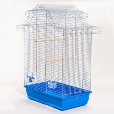 Klec pro papoušky AMADINA chrom - 61,5 x 41,5 x 85,5 cm