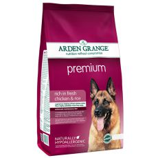 ARDEN GRANGE Premium rich in fresh chicken & rice, 12 kg