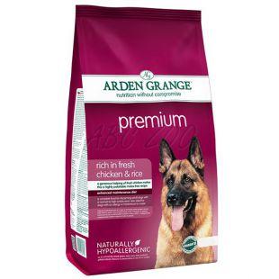ARDEN GRANGE Premium rich in fresh chicken & rice, 12 kg