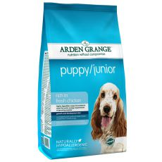 ARDEN GRANGE Puppy / Junior rich in fresh chicken, 12 kg