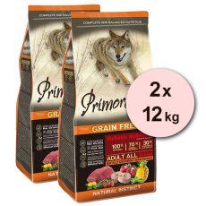Primordial GF ADULT - buvol a makrela 2 x 12 kg