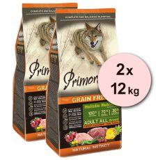 Primordial GF ADULT - vysoká zvěř a krocan 2 x 12 kg