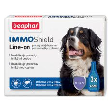 "BEAPHAR IMMO SHIELD Line-on PES ""L"" 3 x 4,5 ml"