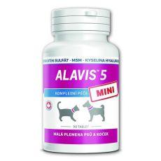 ALAVIS 5 MINI Kloubní přípravek pro psy a kočky – 90 tbl