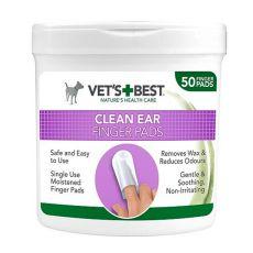 Čisticí utěrky na uši pro psy VET´S BEST, 50 ks