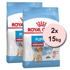 ROYAL CANIN MEDIUM PUPPY 2 x 15 kg