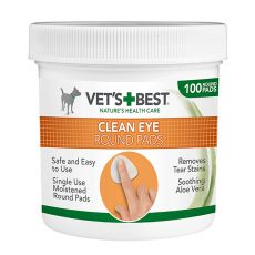 Čisticí utěrky na oči pro psy VET´S BEST, 100 ks