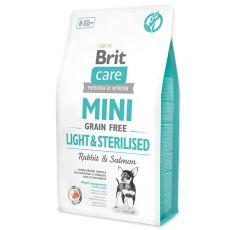 Brit Care Mini Grain Free Light & Sterilised 7 kg