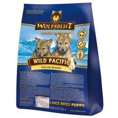 WOLFSBLUT Wild Pacific LARGE BREED PUPPY 15 kg