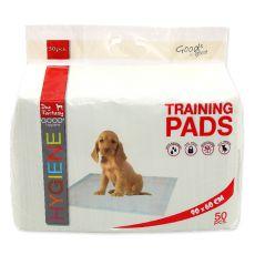 Výcvikové podložky pro psy 90 x 60 cm, 50 ks