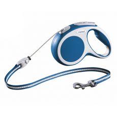 Flexi Vario S vodítko do 12 kg, 5m lanko – modré