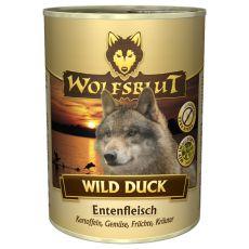Konzerva WOLFSBLUT Wild Duck, 395 g