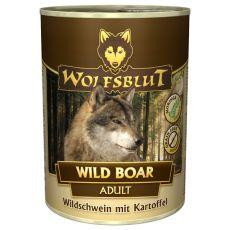 Konzerva WOLFSBLUT Wild Boar, 395 g