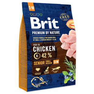 Brit Premium by Nature Senior Small a Medium 3 kg