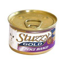 Konzerva STUZZY Gold – bílá ryba, 85 g