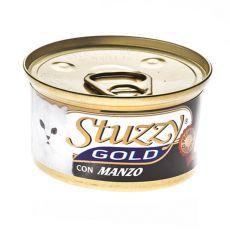 Konzerva STUZZY Gold – hovězí, 85 g