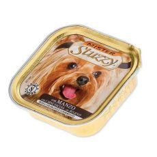 Vanička Mister STUZZY Dog – hovězí maso, 150 g