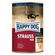 Happy Dog Pur – Strauss 400 g/pštros