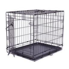 Klec Dog Cage Black Lux, S – 61,5 x 42,5 x 50 cm