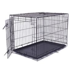 Klec Dog Cage Black Lux, XL – 107,5 x 74,5 x 80,5 cm