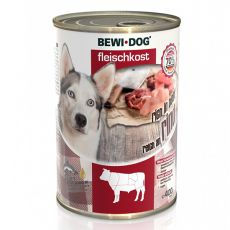 New BEWI DOG konzerva – Hovězí maso, 400 g