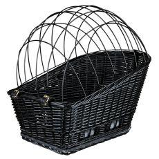 Košík na jízdní kolo pro psa s mřížkou 35 × 49 × 55 cm