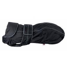 Kabát pro psa Trixie Rouen, černý S-M 43 cm