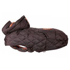 Kabát pro psa Trixie Cervino hnědý, XS 30 cm