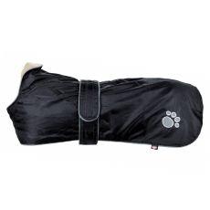 Kabát pro psa Trixie Orléans černý, XL 80 cm